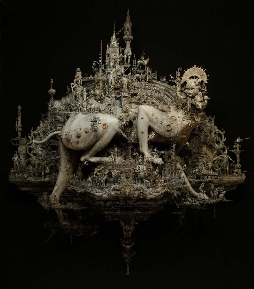 art blog - kris kuksi - empty kingdom