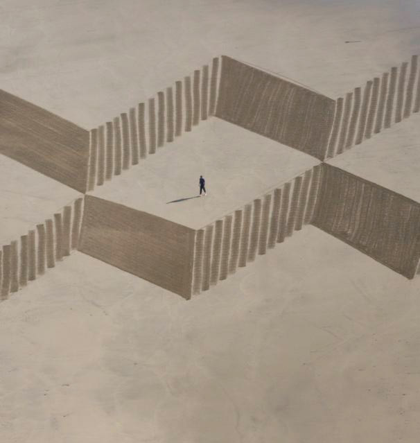art blog - jim denevan - empty kingdom