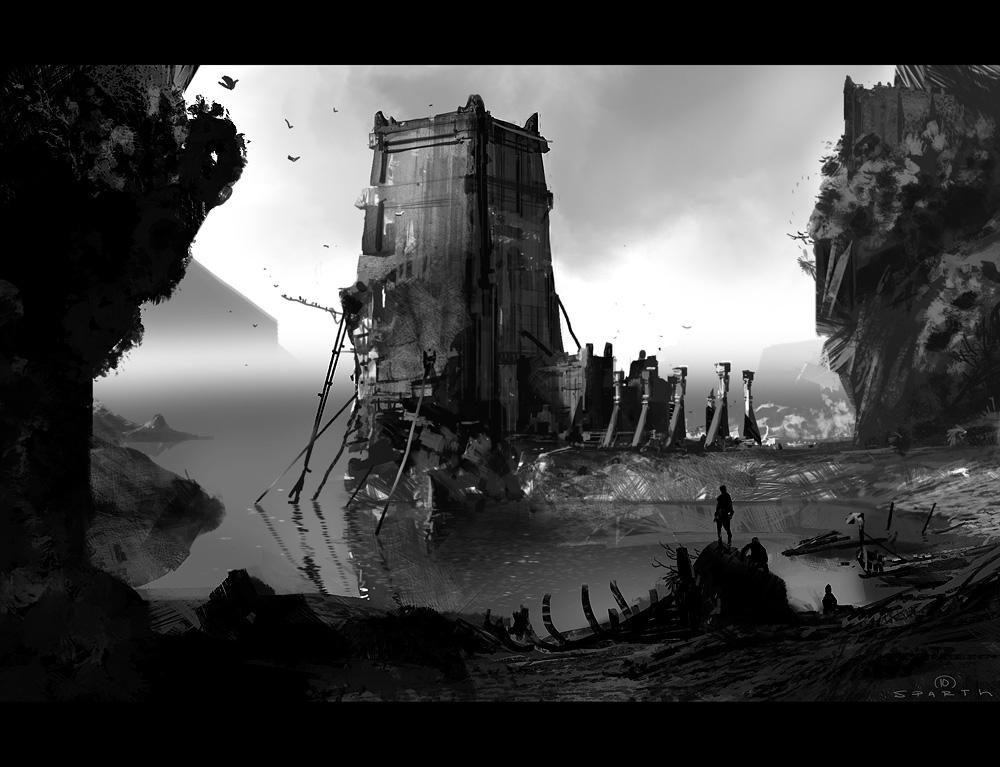 art blog - nicolas bouvier - empty kingdom