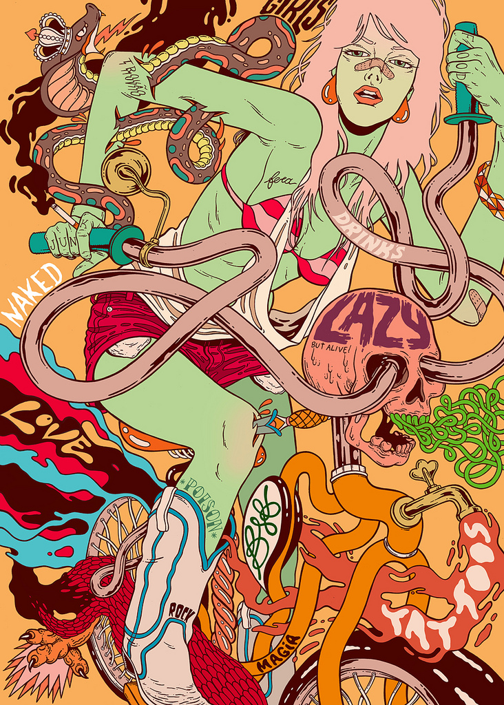 art blog - Bicicleta Sem Freio - empty kingdom