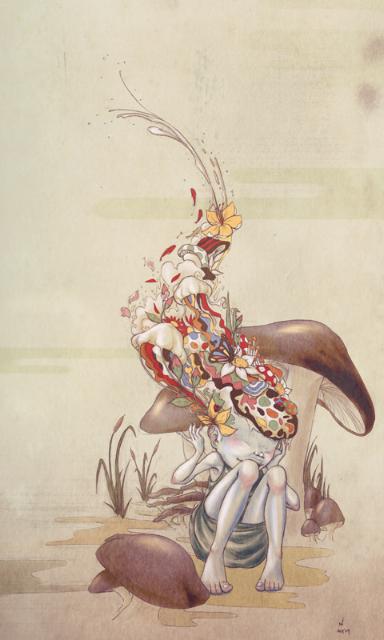 art blog - Mayumi Haryoto - empty kingdom