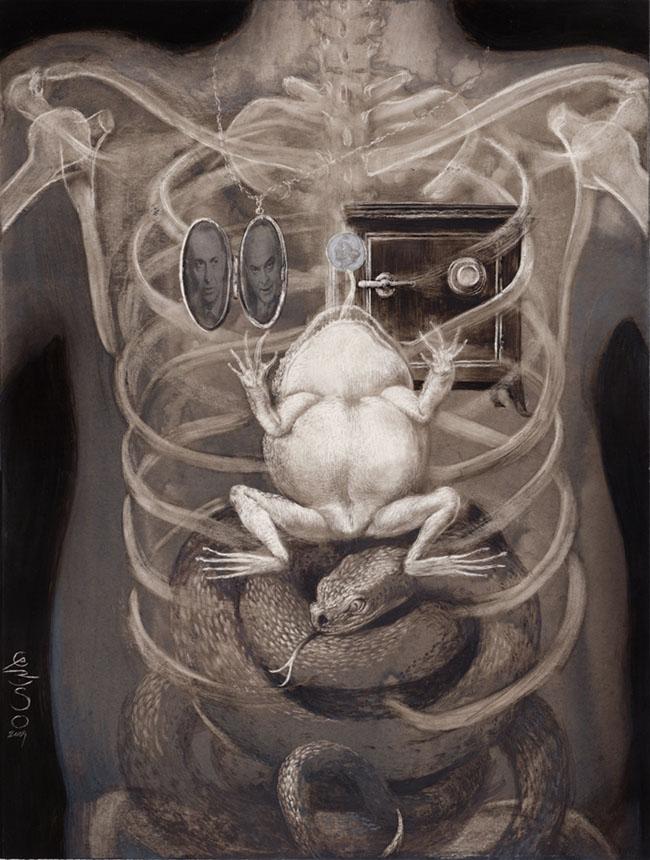 art blog - santiago caruso - empty kingdom