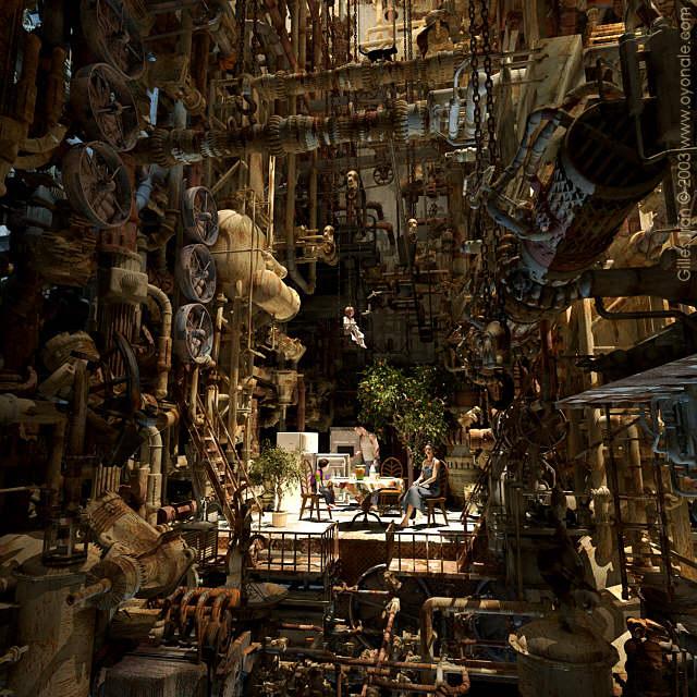 art blog - gilles tran - empty kingdom