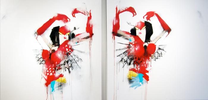 art blog - Anthony Lister - empty kingdom