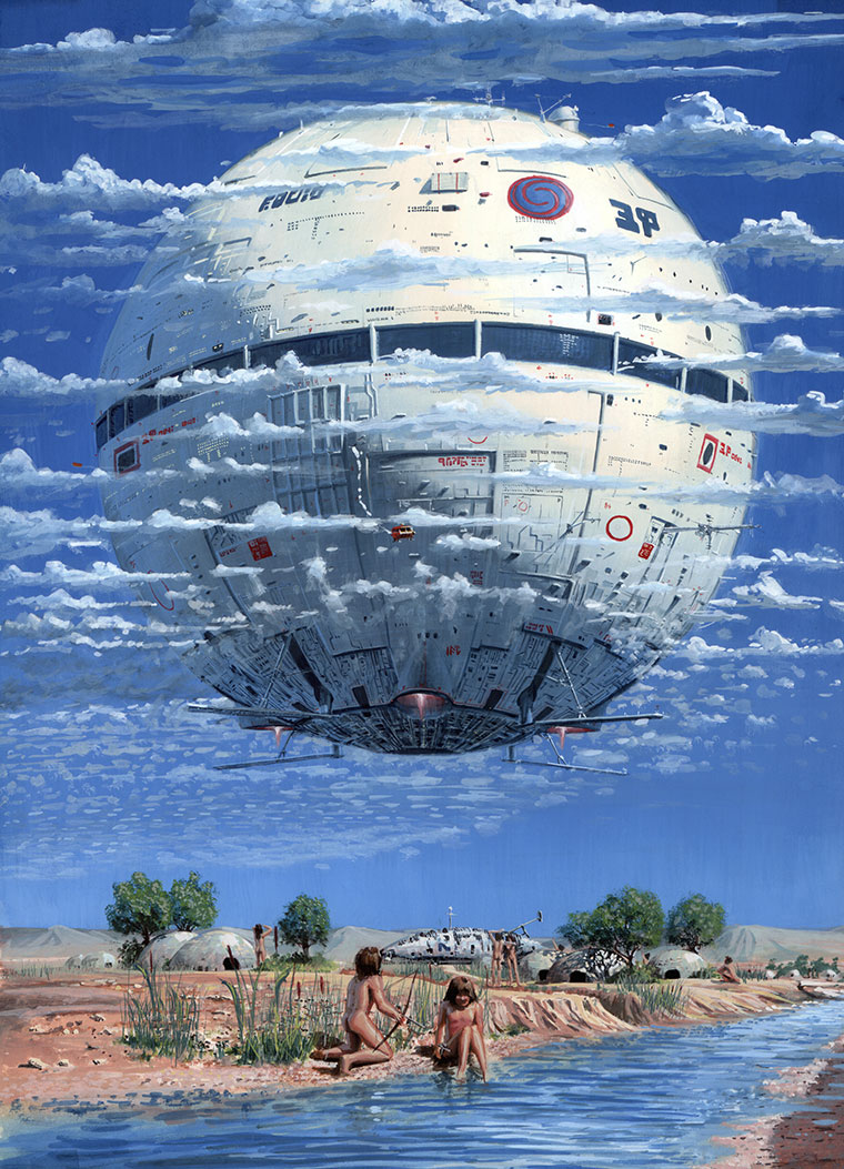 art blog - peter elson - empty kingdom