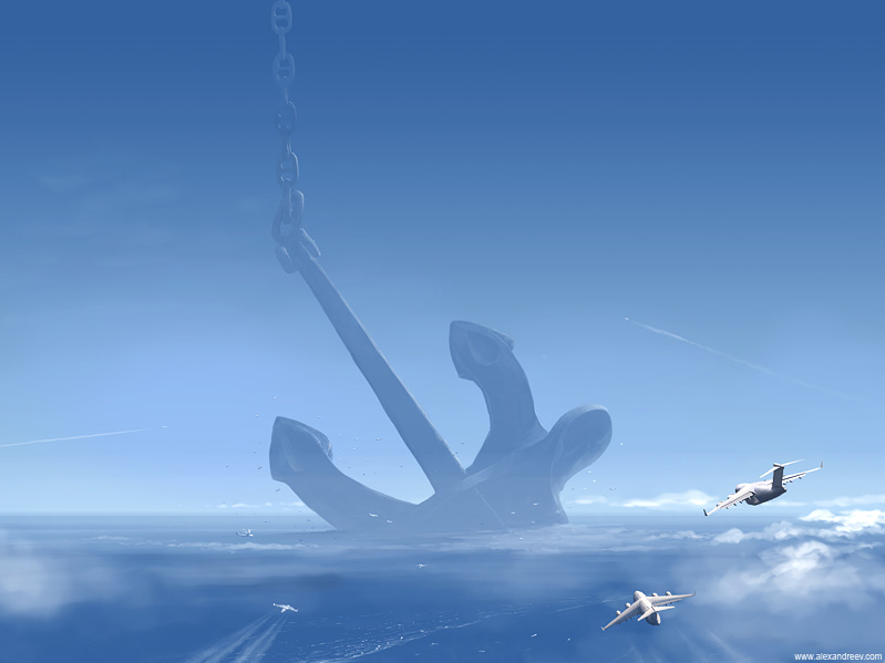 art blog - Alex Andreev - empty kingdom