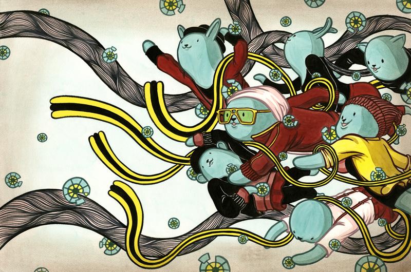 art blog - Dongyun Lee - empty kingdom