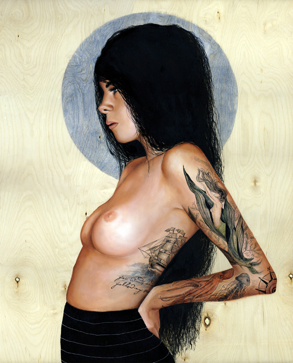 art blog - Charmaine Olivia - empty kingdom