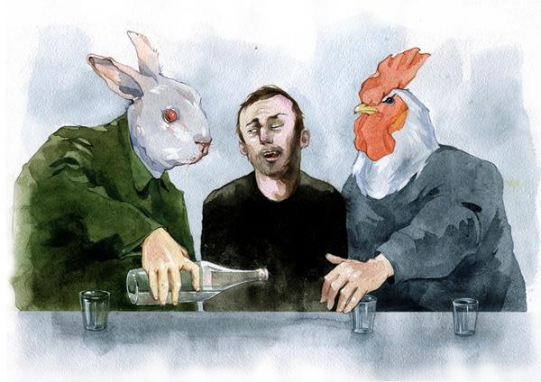 art blog - Dmitriy Rebus Larin - empty kingdom