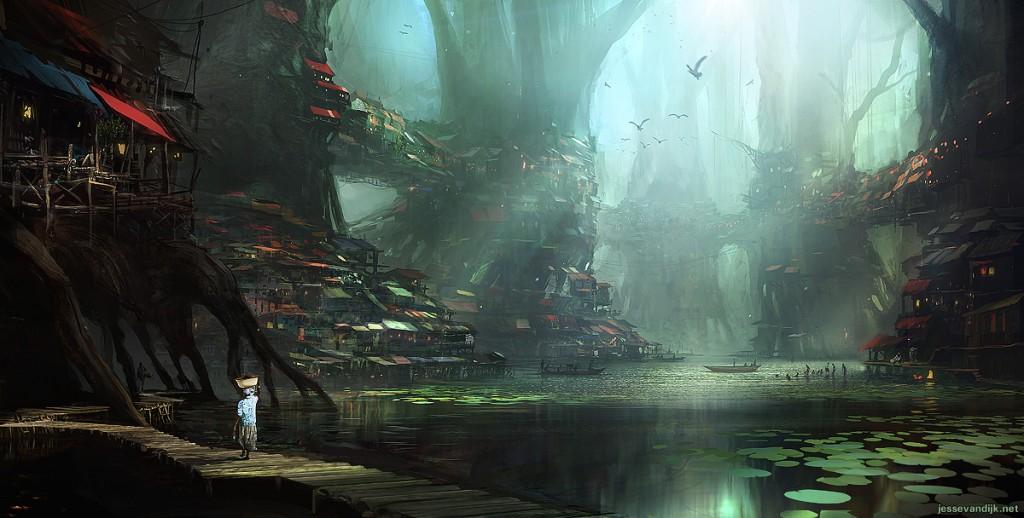 art blog - Jesse van Dijk - empty kingdom