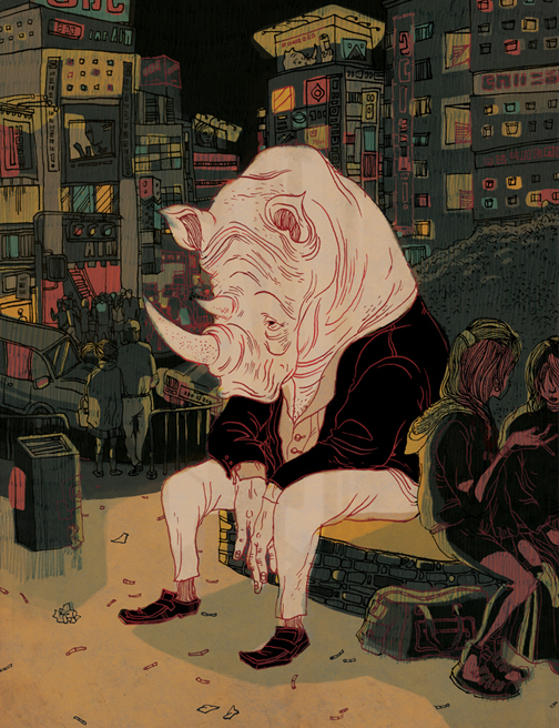 art blog - Victo Ngai - empty kingdom