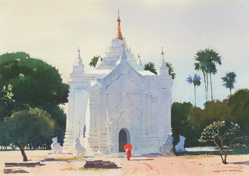 art blog - Myoe Win Aung - empty kingdom