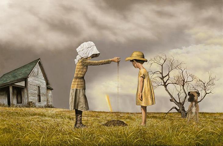 art blog - Pat Rocha - Empty Kingdom