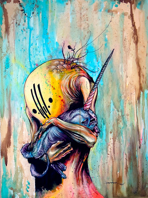 art blog - Alex Pardee - Empty Kingdom