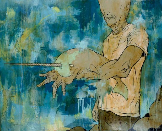 art blog - Alex Pardee - Empty Kingdom