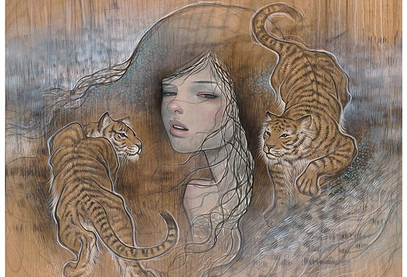 art blog - Aubrey Kawasaki - Empty Kingdom