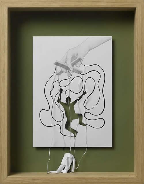 art blog - peter callesen - empty kingdom