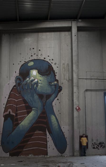art blog - Aryz - empty kingdom