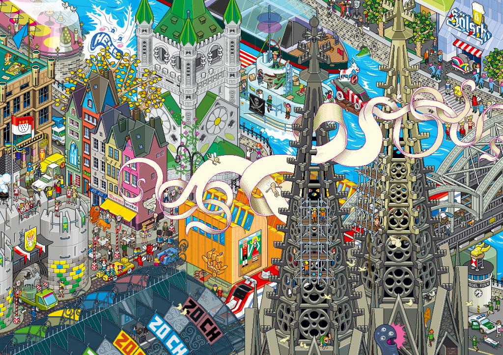 art blog - eboy - empty kingdom