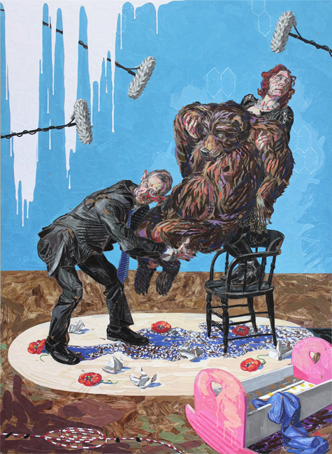 art blog - ELBOW-TOE Brian Adam Douglas - empty kingdom