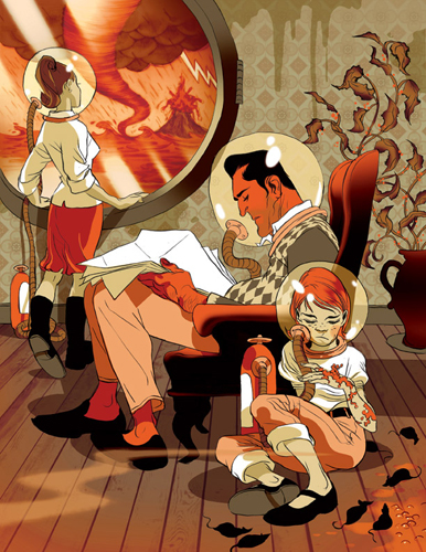 art blog - Tomer Hanuka - Empty Kingdom
