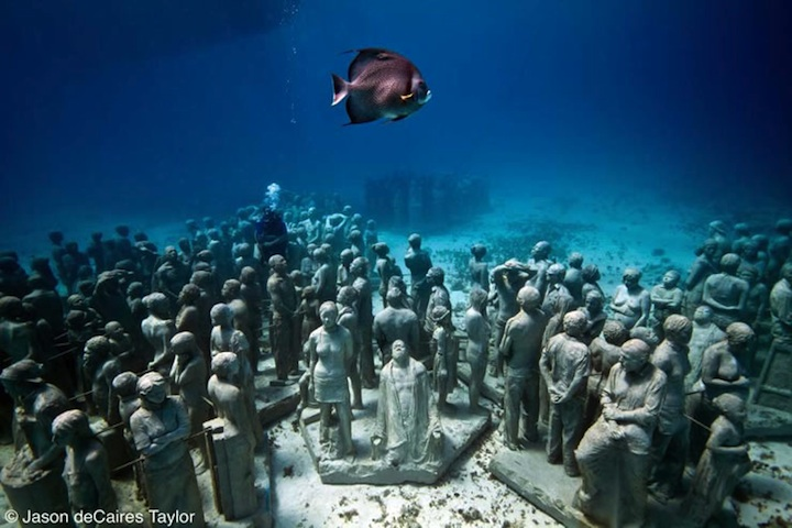 art blog - Jason deCaires - empty kingdom top 100