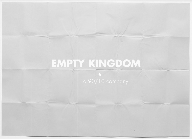 art blog - 90/10 - empty kingdom