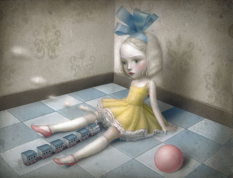 art blog - Nicoletta Ceccoli - Empty Kingdom