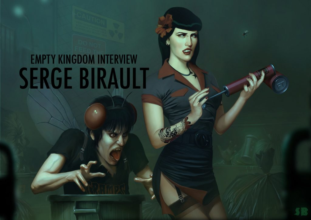 art blog - serge birault - empty kingdom
