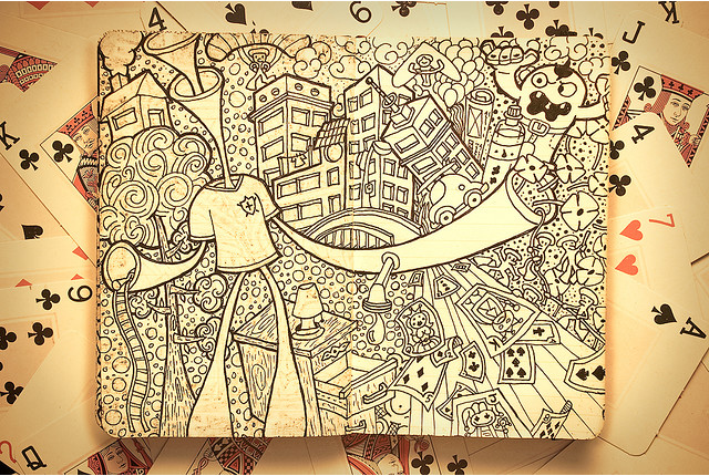 art blog - Maykel Nunes//Moleskine - Empty Kingdom