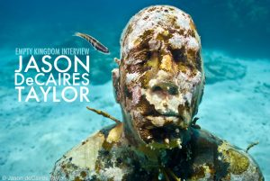 art blog - Jason DeCaires Taylor - empty kingdom