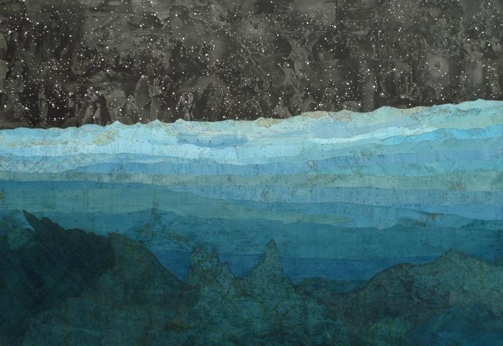 art blg - Matthew Cusick - empty kingdom