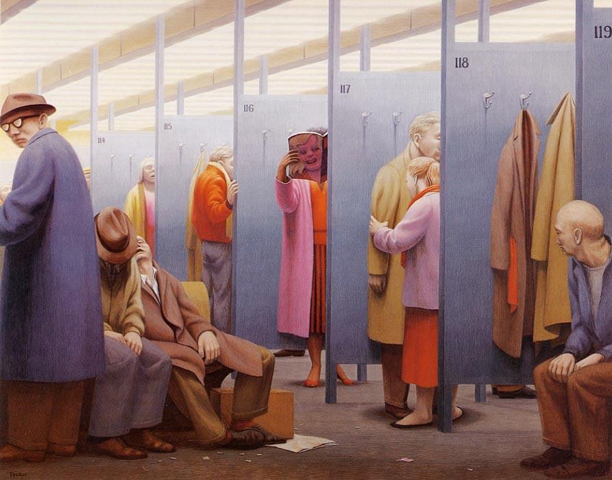 art blog - George Tooker - empty kingdom