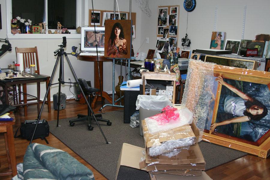 art blog - Terry Strickland - empty kingdom