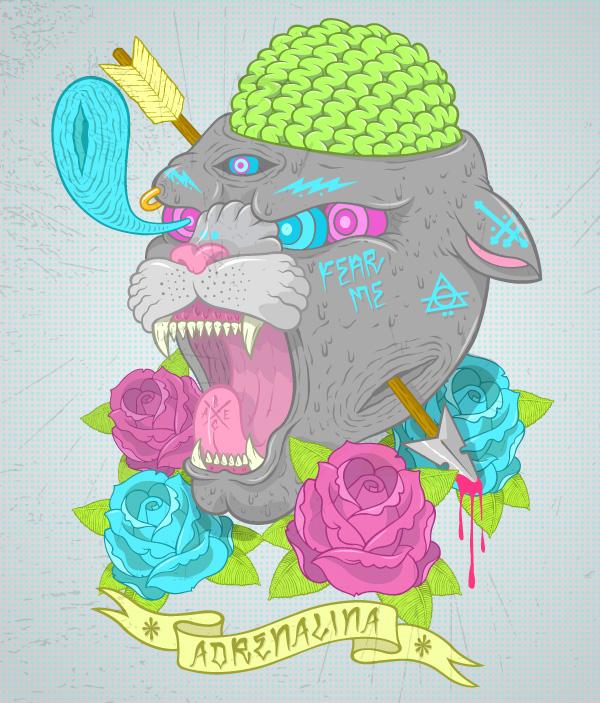 art blog - BLUE CHICKEN Raul Ramirez - empty kingdom