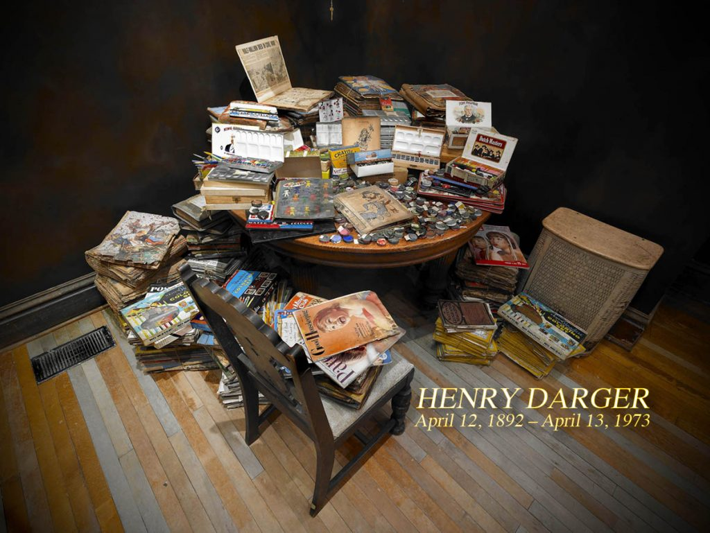 Henry-Darger- empty kingdom installation