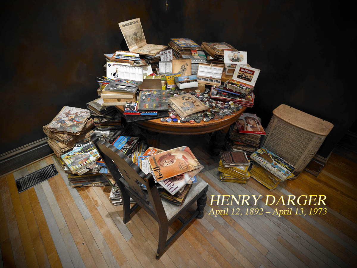Henry-Darger- empty kingdom installation