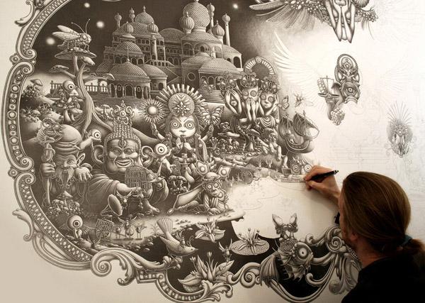 art blog - Joe Fenton - empty kingdom
