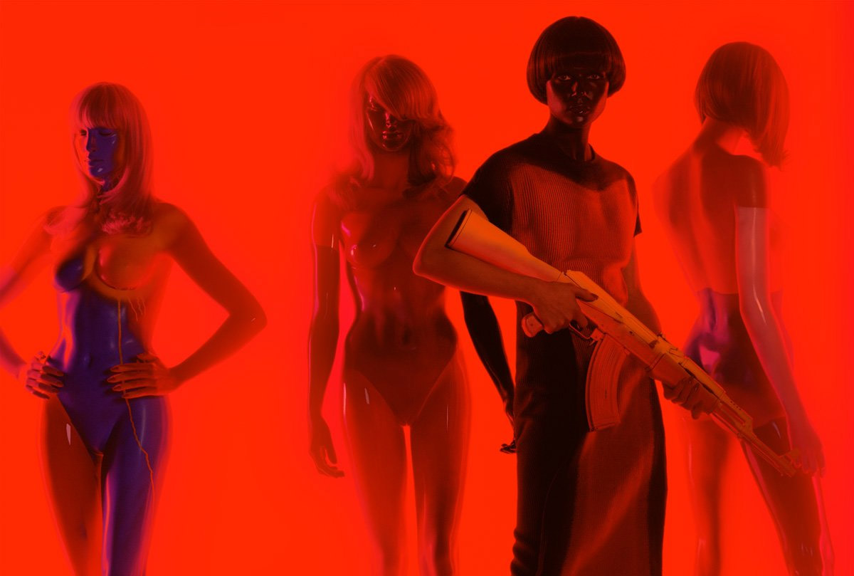 art blog - Miles Aldridge - empty kingdom