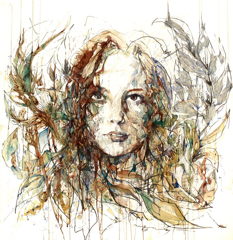 Carne griffiths empty kingdom for Artistic mural works