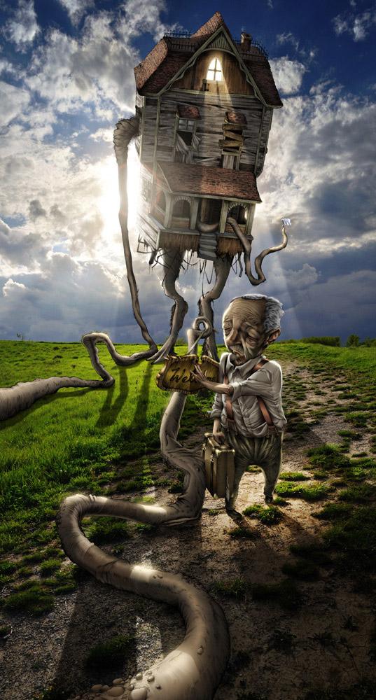 art blog - Clifton Harvey - empty kingdom
