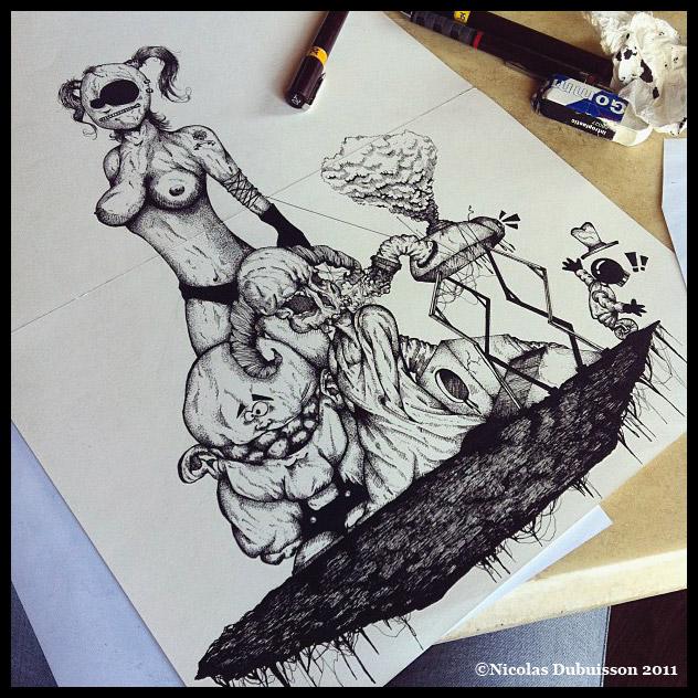art blog - Nicolas Dubuisson - empty kingdom