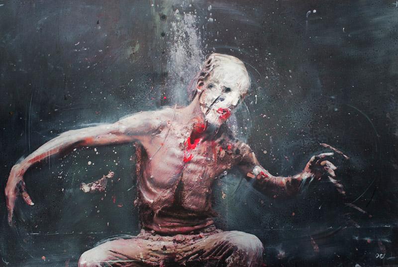 art blog - Olivier de Sagazan - empty kingdom