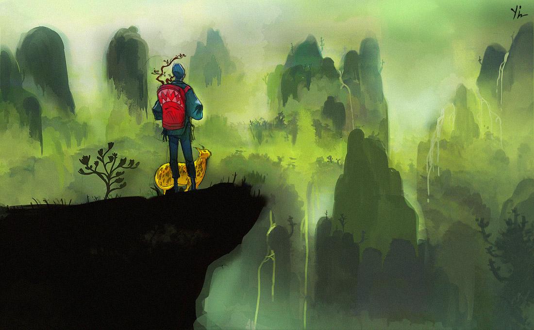 art blog - Qian Yi - empty kingdom