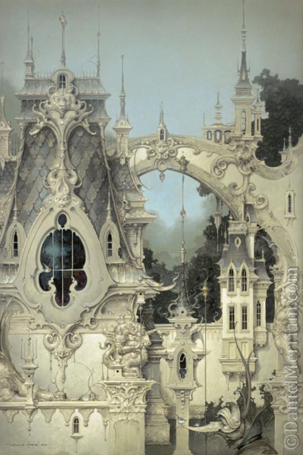 art blog - daniel merriam - empty kingdom