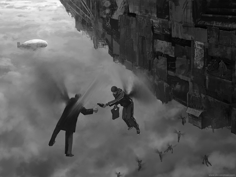 art blog - Alex Andreyev - Empty Kingdom