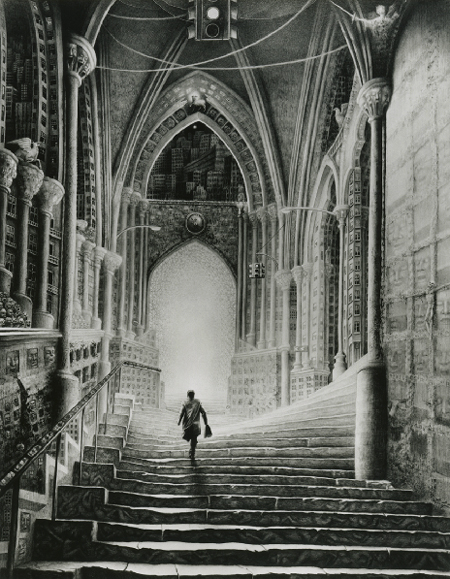 art blog - laurie lipton interview - empty kingdom