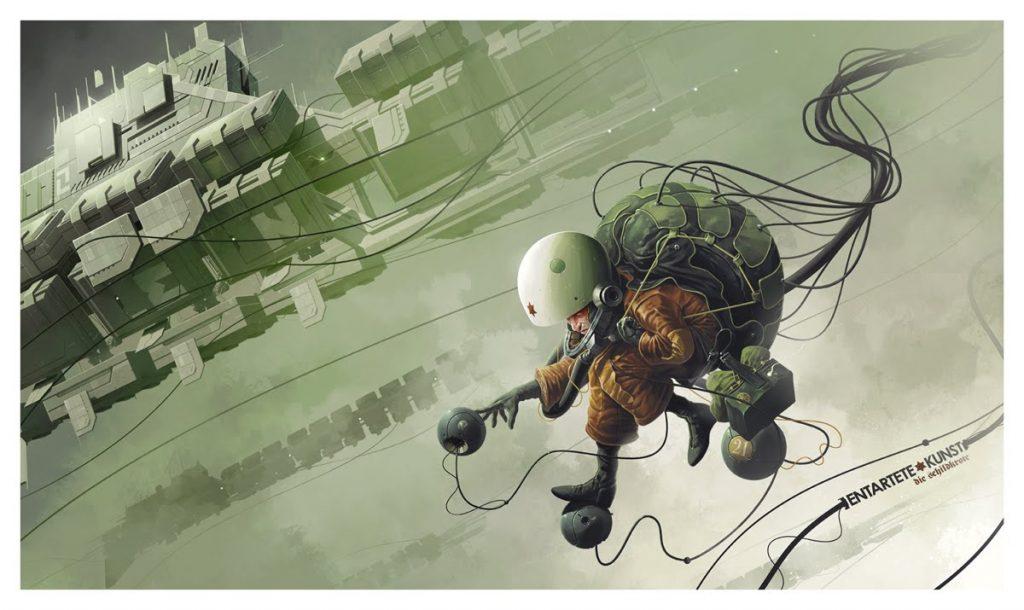 art blog - Derek Stenning - Empty Kingdom