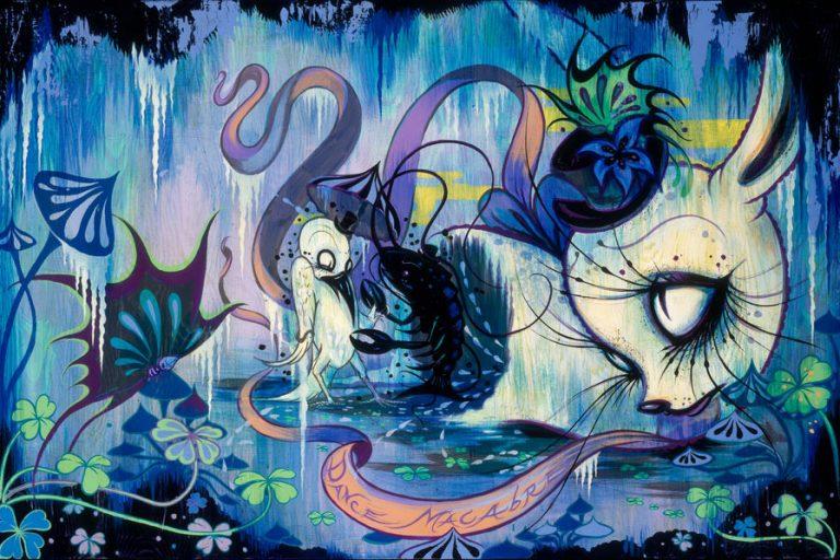 art blog - Camille Rose Garcia - empty kingdom