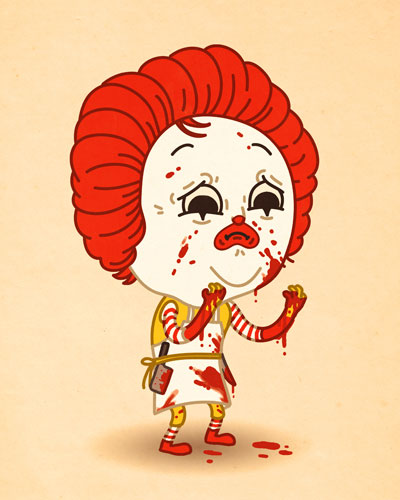 art blog - Mike Mitchell - empty kingdom